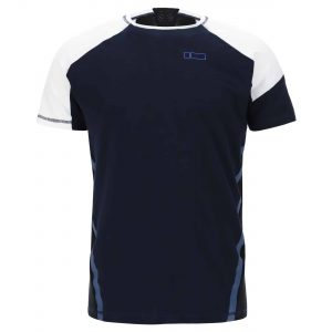 Ergonomic fit No-Logo logo athletic t-shirt with a sleeve pocket