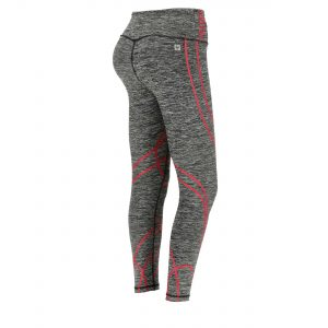 Women's ankle-length shaping fitness leggings in breathable fabric